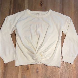 Umgee Twist-front Sweater